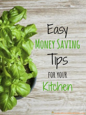 Try these easy money saving tips for your kitchen sponsored by Hefty Ultra Strong.