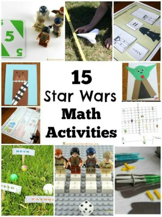 Check out these 15 Star Wars math activities!