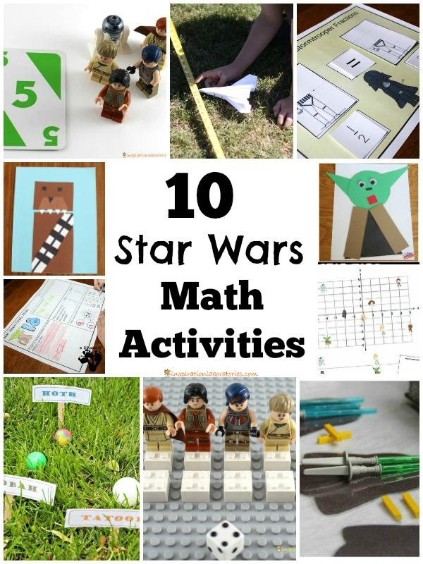 math worksheet : 10 star wars math activities  inspiration laboratories : Star Wars Math Worksheets