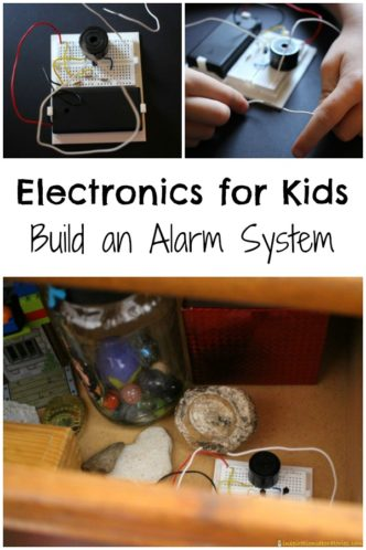Learn about electronics by building a simple alarm system.