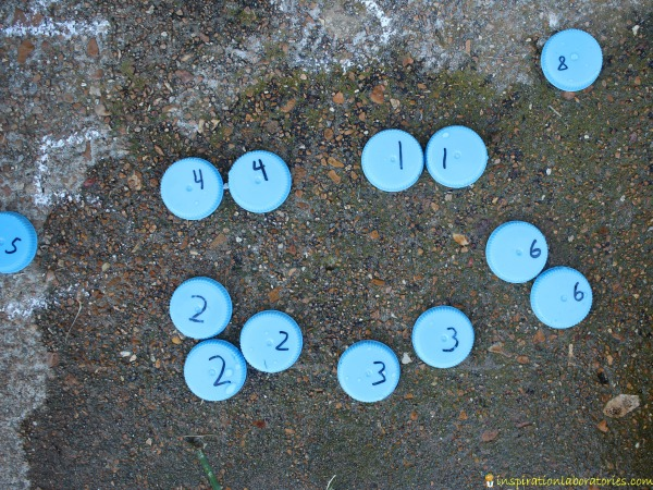 Learn numbers with this fun matching game.