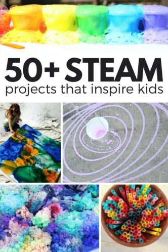 STEAM Kids - 50+ Activities Featuring Science, Technology, Engineering, Art, and Math