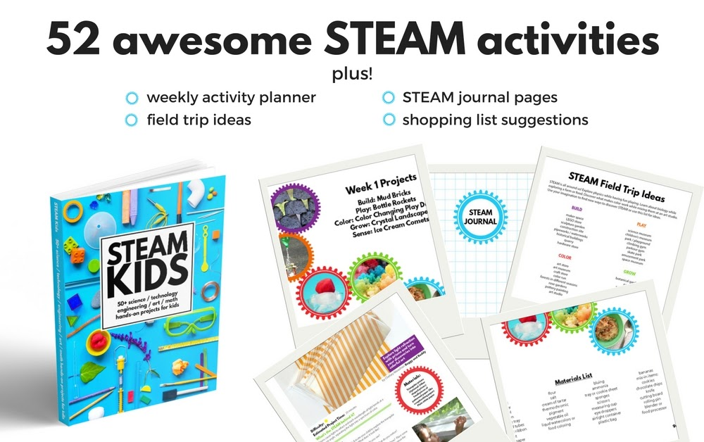 Get 52 awesome STEAM activities