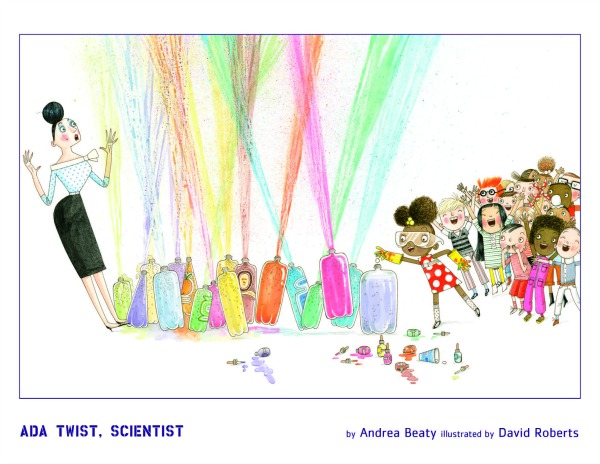A scene from Ada Twist, Scientist