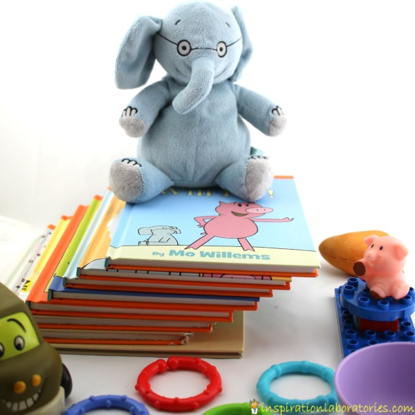 Play these listening games with Elephant and Piggie to practice listening skills.
