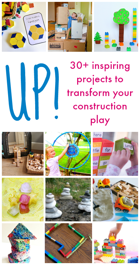 Up! 30+ hands-on projects to transform your construction play