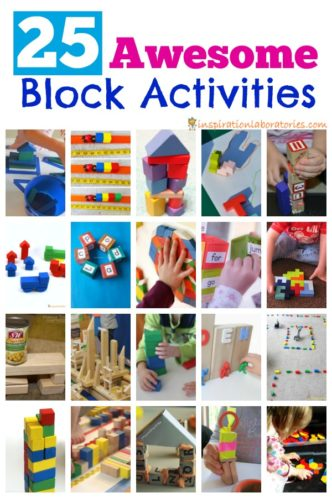 Expand your block play with this collection of activities using blocks.