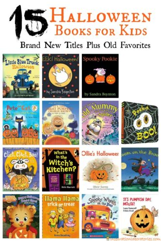 15 Halloween Books for Kids - new titles and old favorites
