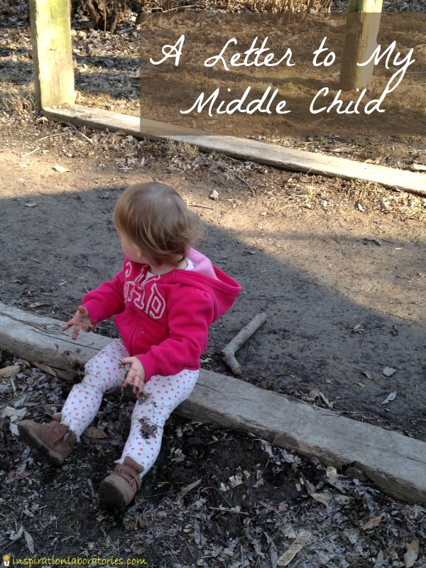 A letter written to my middle child to tell her how special she is.