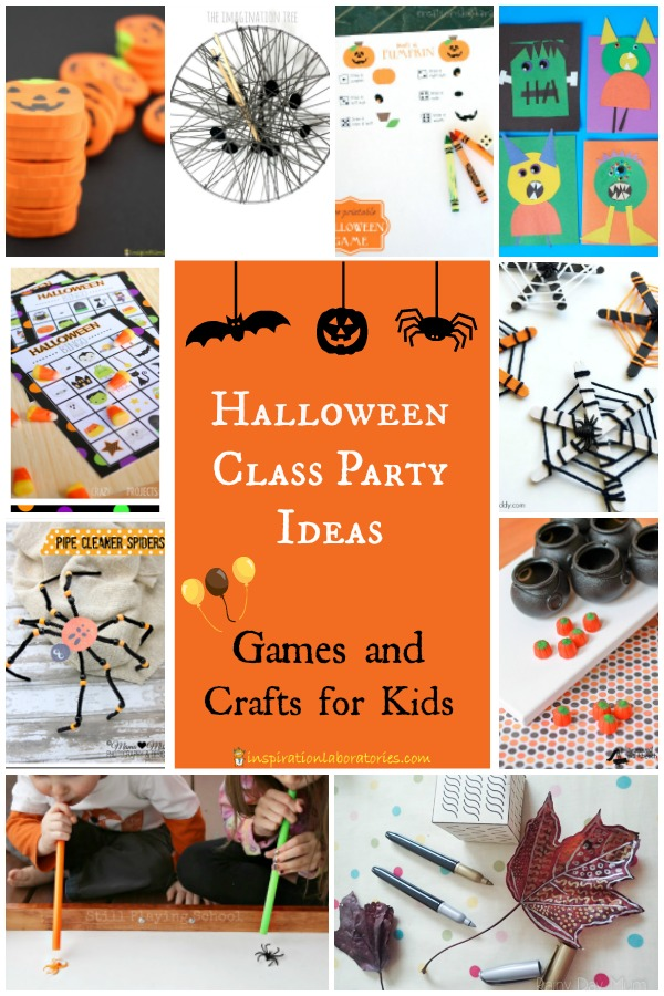 Planning a class Halloween party? Check out these easy ideas.