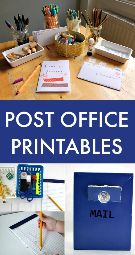 Make Your Mark - Post Office Printables