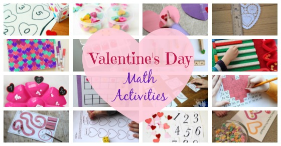 20+ Valentine\'s Day Math Activities | Inspiration Laboratories