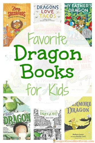 Check out this list of our favorite dragon books for kids. You'll find picture books and chapter book recommendations.