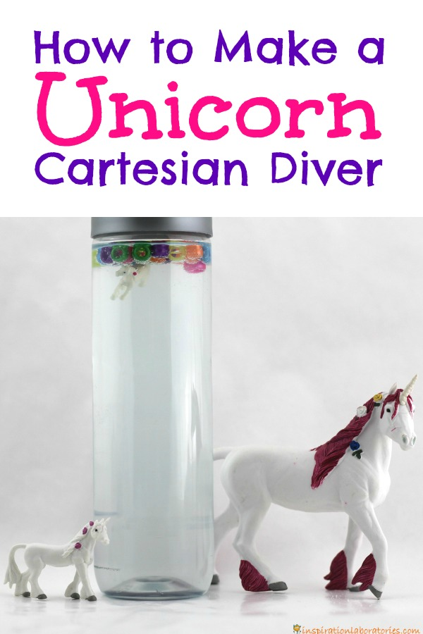 Learn how to make a unicorn Cartesian diver to explore density and buoyancy.