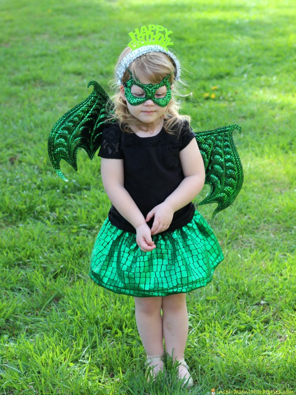 Dragon costume for child