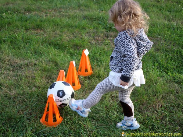 Use these soccer reading games to practice sight words, spelling, letters, and name recognition.