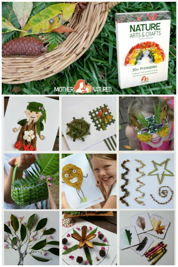 30+ Nature Art and Craft printables - such a fabulous way to be creative and learn with nature