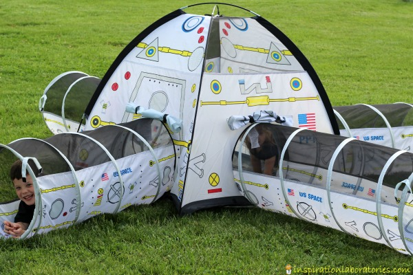 Pacific Play Tents Space Station Tent and Tunnel Combo