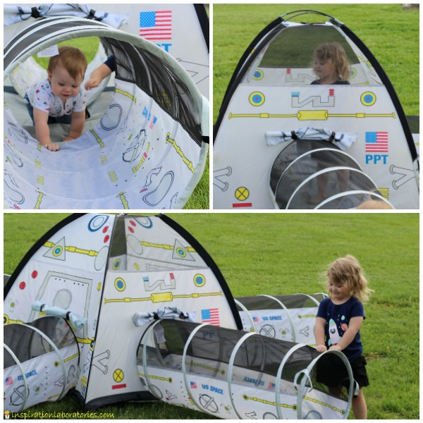 Pacific Play Tents Space Station Tent and Tunnel Combo & Out of This World Space Toys and Gifts for Kids | Inspiration ...