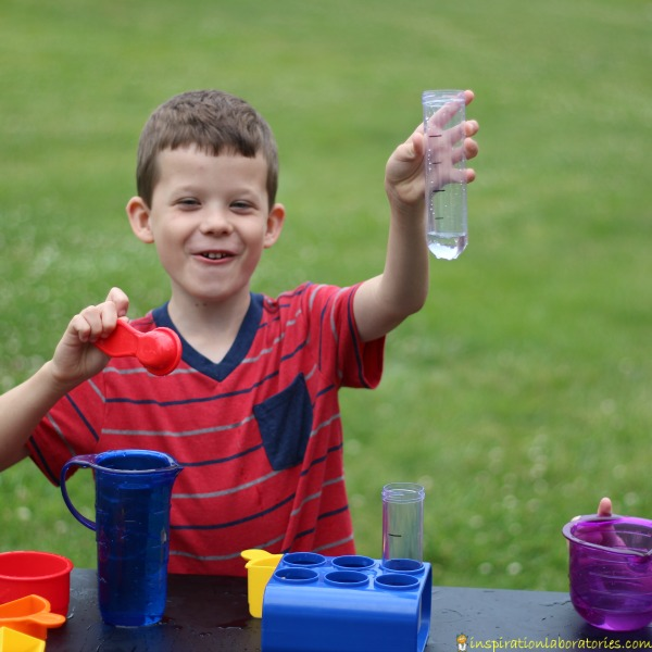 Explore volume with these simple summer science activities.