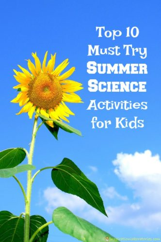 Try these summer science activities for kids!