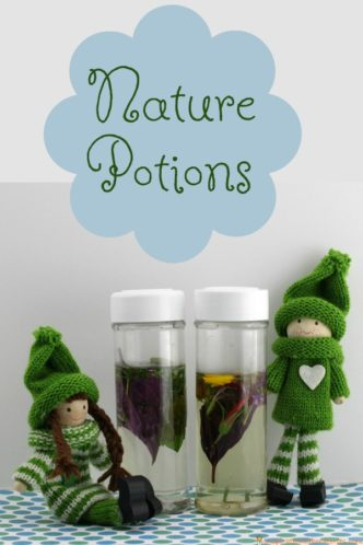 Make Nature Potions with the Kindness Elves