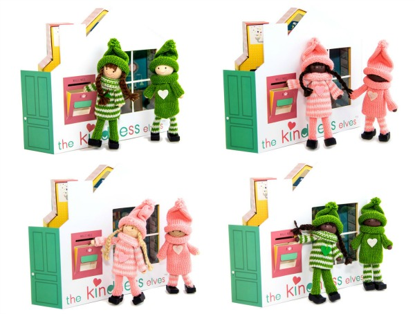 Pink and Green Kindness Elves