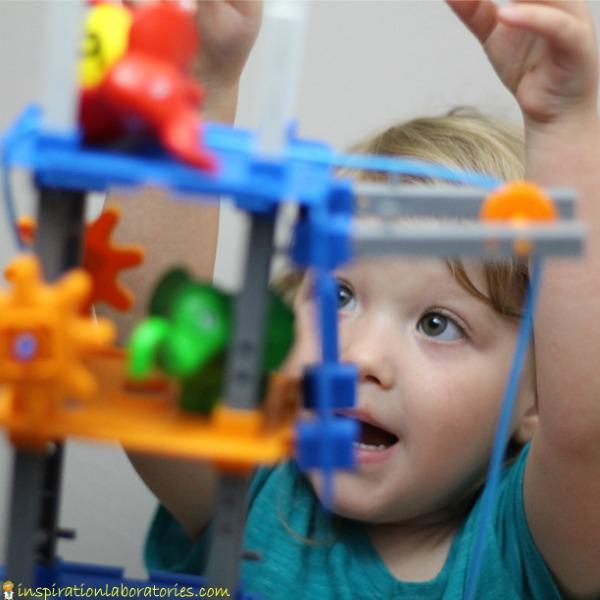Combine STEM building skills with pretend play.