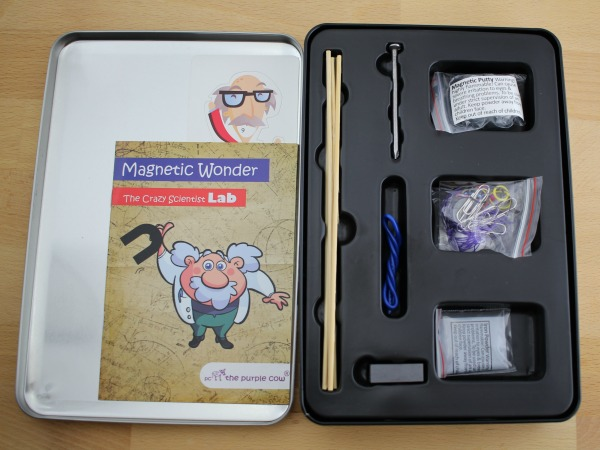 The Crazy Scientist LAB - Magnetic Wonder science kit