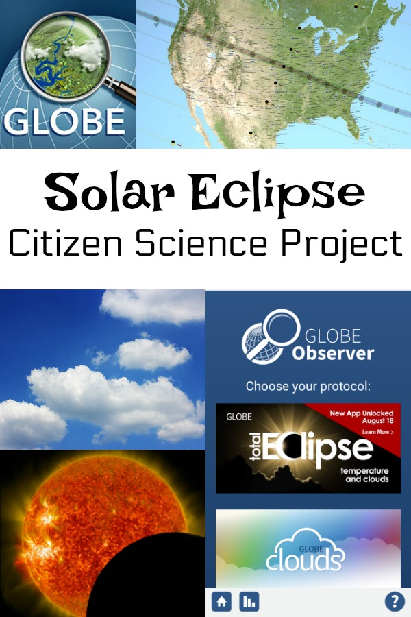 You can get involved in a cool solar eclipse citizen science project with NASA! If you'll be in North America on August 21st, you can collect data during the solar eclipse.