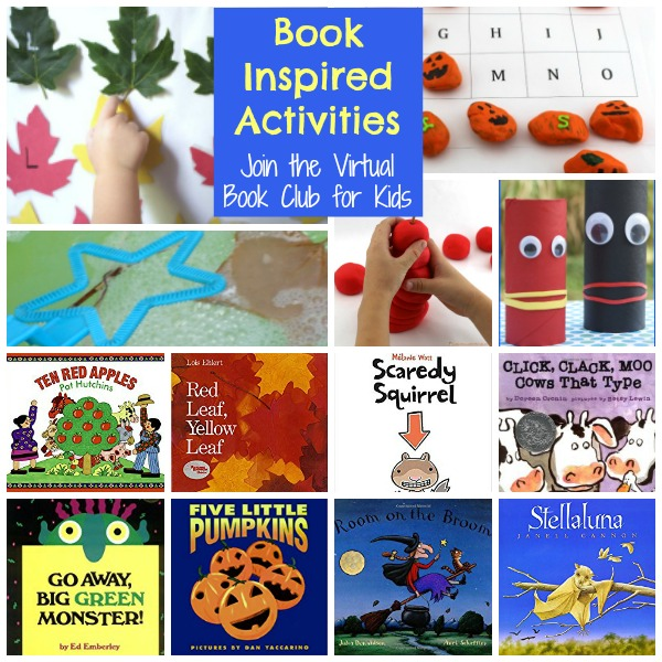 Join us for this year's Weekly Virtual Book Club for Kids - perfect for preschool ages but can be modified for older kids as well