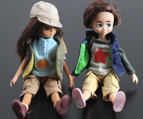 Lottie Dolls - Fossil Hunter Lottie and Kite Flyer Finn