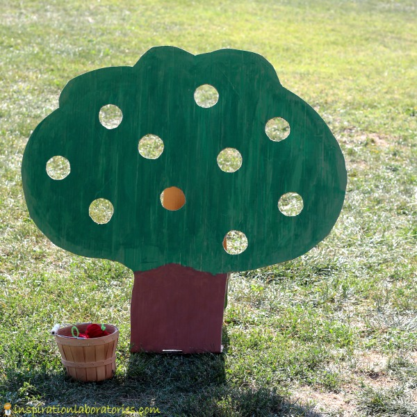 apple tree gross motor game