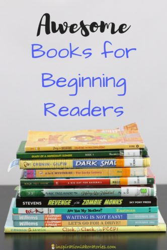 Top books for beginning readers - includes our favorite picture books and chapter books for emerging and independent readers. sponsored by #MyLiteracyStory