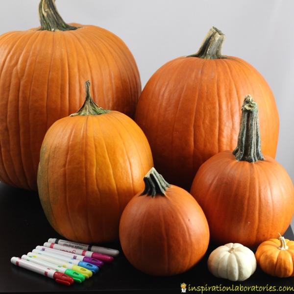Pumpkin themed activities inspired by Five Little Pumpkins