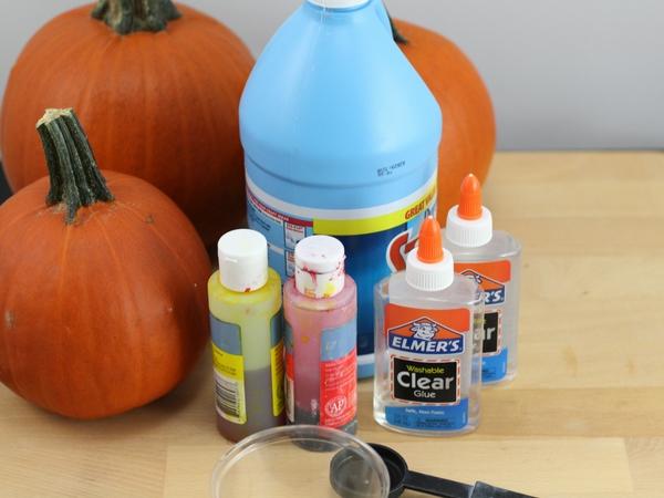 halloween slime supplies