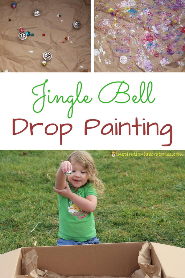 Try a fun Christmas STEAM activity that combines science with art. Explore gravity by painting with jingle bells.