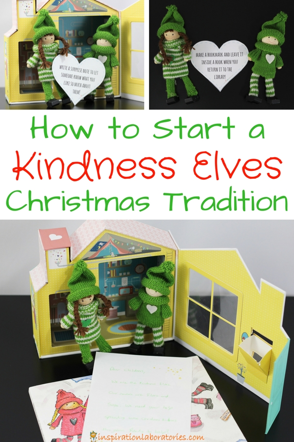 Start a Kindness Elves Christmas tradition with your family this year!