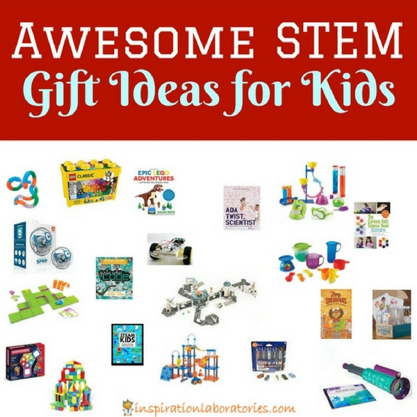 Our 2017 STEM gift guide features an awesome selection of STEM (science, technology, engineering, and math) toys, games, kits, activity sets, and books perfect for ages 5 and up.