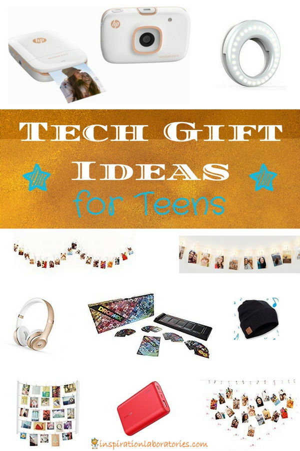 Need a gift for a teen? These tech gift ideas are sure to please. These photography and music gifts are perfect for teens, college students, and millenials.