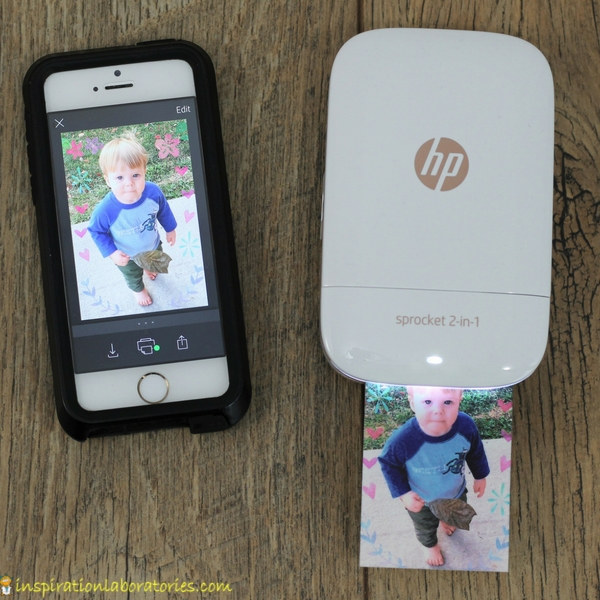 HP Sprocket 2-in-1 photo printer is a great gift idea for teens.