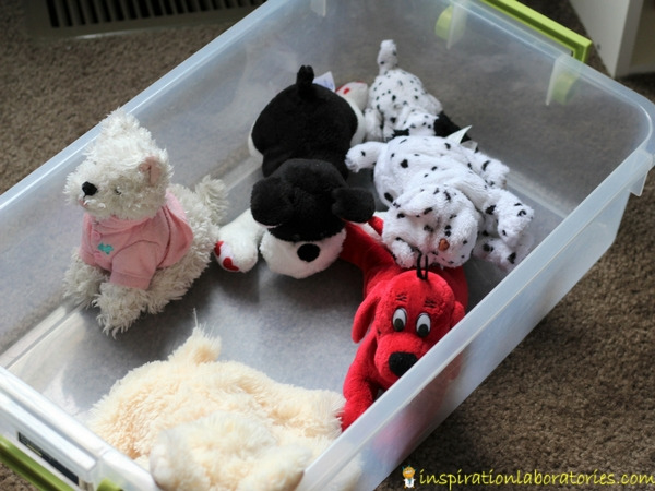 toy dogs for pretend pet store