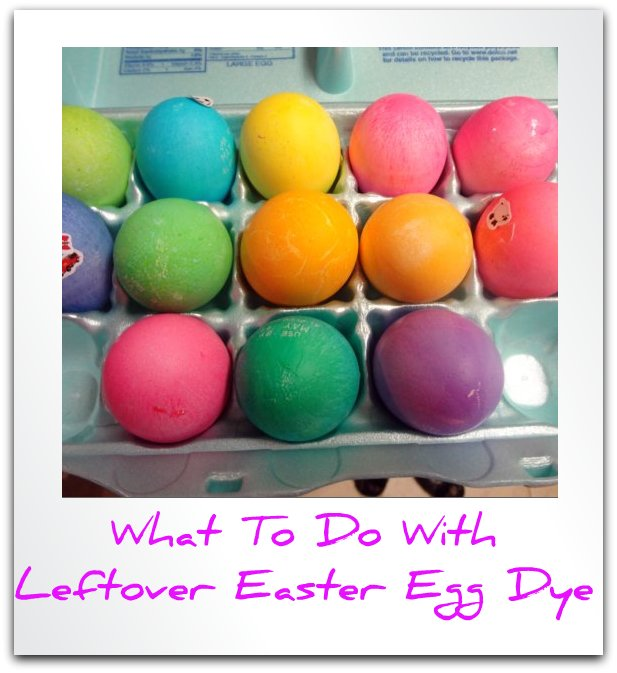What to Do with Leftover Easter Egg Dye | Inspiration Laboratories