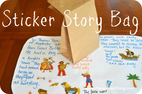 ways to start a story for kids