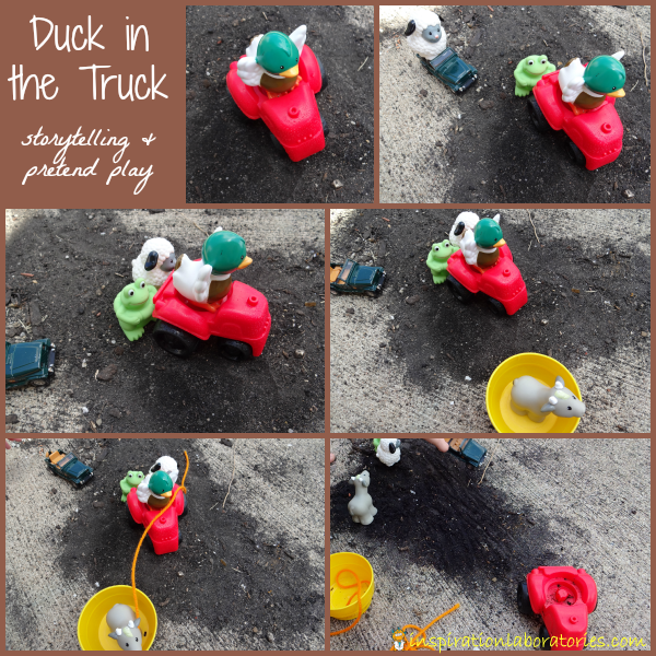 Art Girls Virtual Preschool: Duck In The Truck {Jez Alborough Virtual Book Club For