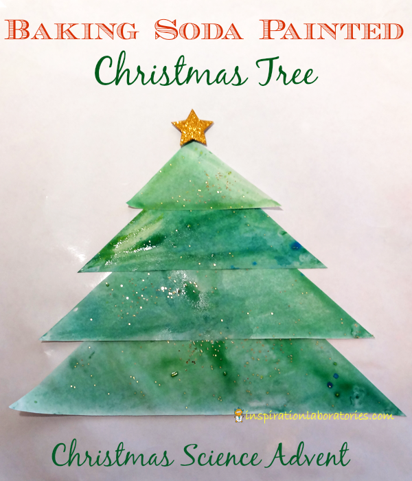 Soda In Christmas Tree Water: Christmas Science Advent Calendar: Baking Soda Painted