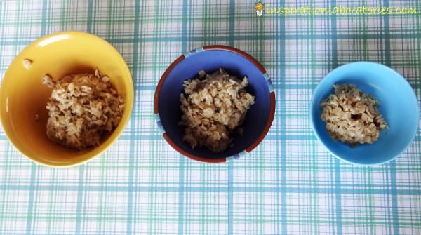 the three bears porridge experiment size sorting inspiration laboratories. Black Bedroom Furniture Sets. Home Design Ideas