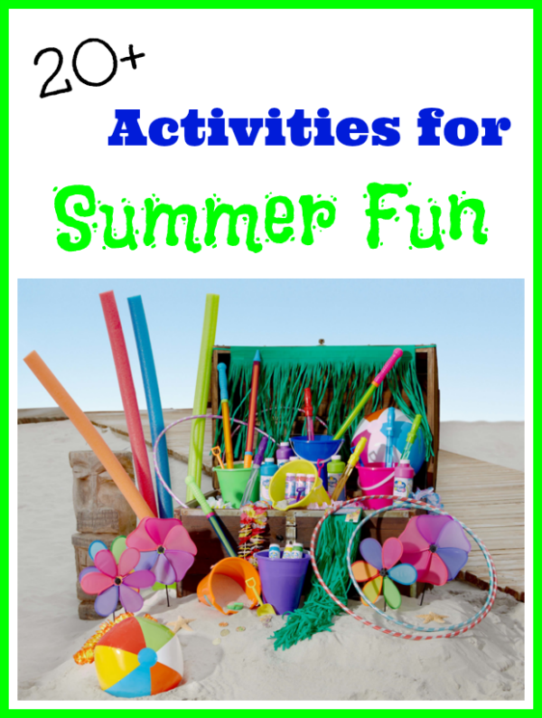20 Activities For Summer Fun With Dollar Tree Inspiration