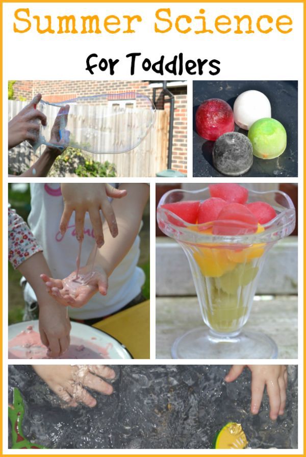 Summer Science For Toddlers Inspiration Laboratories