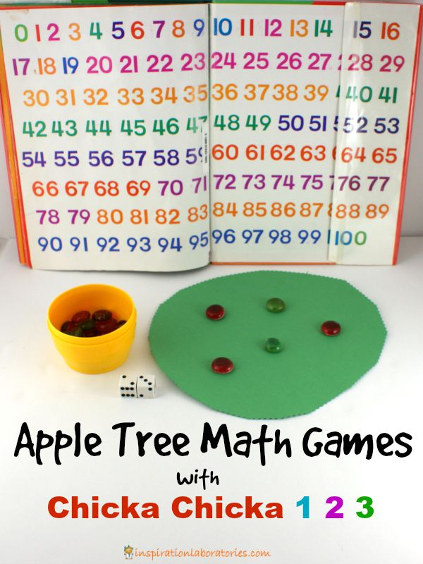 Apple Tree Math Games with Chicka Chicka 1, 2, 3 ...